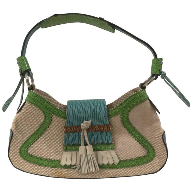 Etro SS16 Multicolour Shoulder Bag NWOT