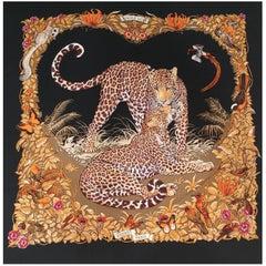 Hermès Jungle Love by Dallet 140cm Cashmere Scarf