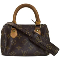 Louis Vuitton Vintage Monogram Nano Speedy Crossbody Bag