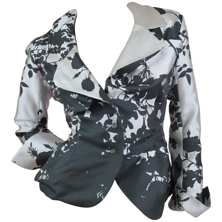 Vivienne Westwood Gold Label Rose Print Beelzebub Jacket, A / W 2014