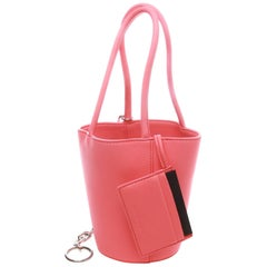 Alexander Wang Fluro Pink Mini Roxy Bucket Bag