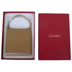 Cartier trinity beige leather wallet purse