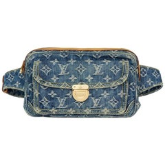 Louis Vuitton Monogram Denim Bum Bag