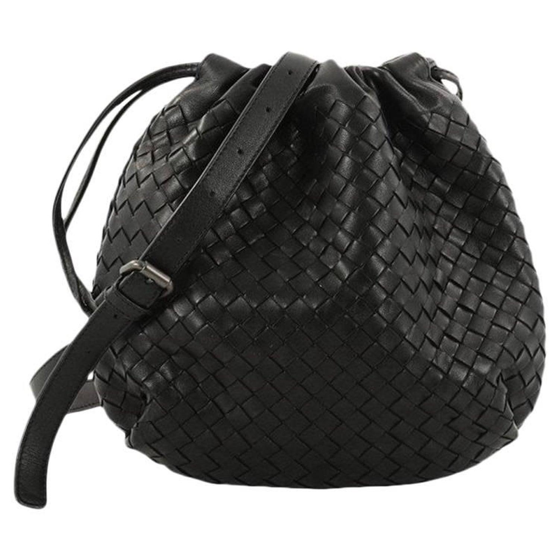 afd9b9a1a0 Bottega Veneta Drawstring Shoulder Bag Intrecciato Nappa Small at 1stdibs