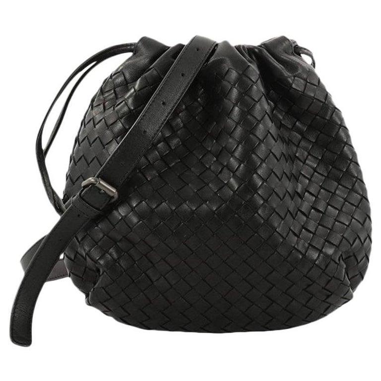 6c43ce0522c7a Bottega Veneta Drawstring Shoulder Bag Intrecciato Nappa Small For Sale