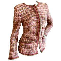 Chanel Colorful Fantasy Tweed Jacket, Autumn 2003
