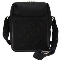 Louis Vuitton Citadin Black Damier Geant Canvas Messenger Bag
