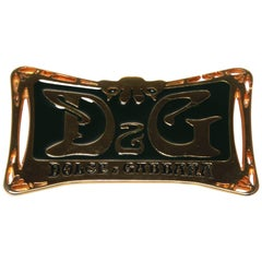 Dolce and Gabbana Art Deco Belt Buckle