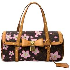 Louis Vuitton by Takashi Murakami Papillon Cherry Blossom shoulder bag