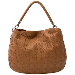 Christian Dior Lady Dior Stitched Cannage Leather Hobo Bag