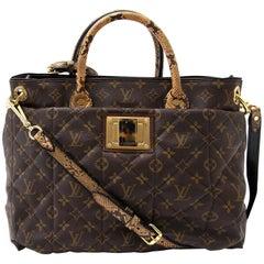 Louis Vuitton Etoile Exotic Python Bag