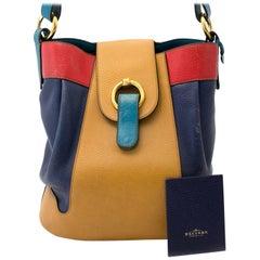 Delvaux Multicolor Hobo Shoulder Bag