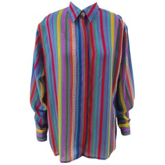 Versace Jeans Couture Vintage Multicoloured Shirt