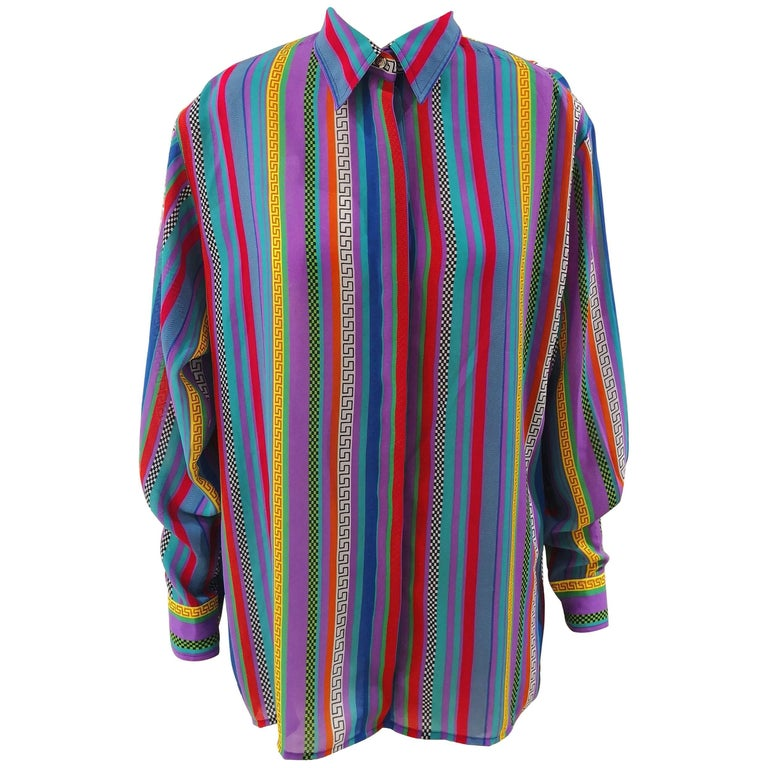 Versace Jeans Couture Vintage Multicoloured Shirt