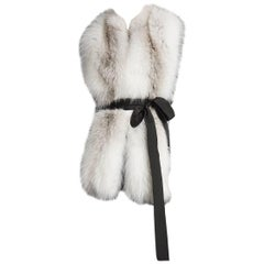 Verheyen London Legacy Stole in Natural Fawn Light Fox Fur