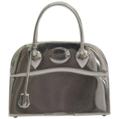 Hermes Genuine Sterling Silver Trinket Collectible Bag Box