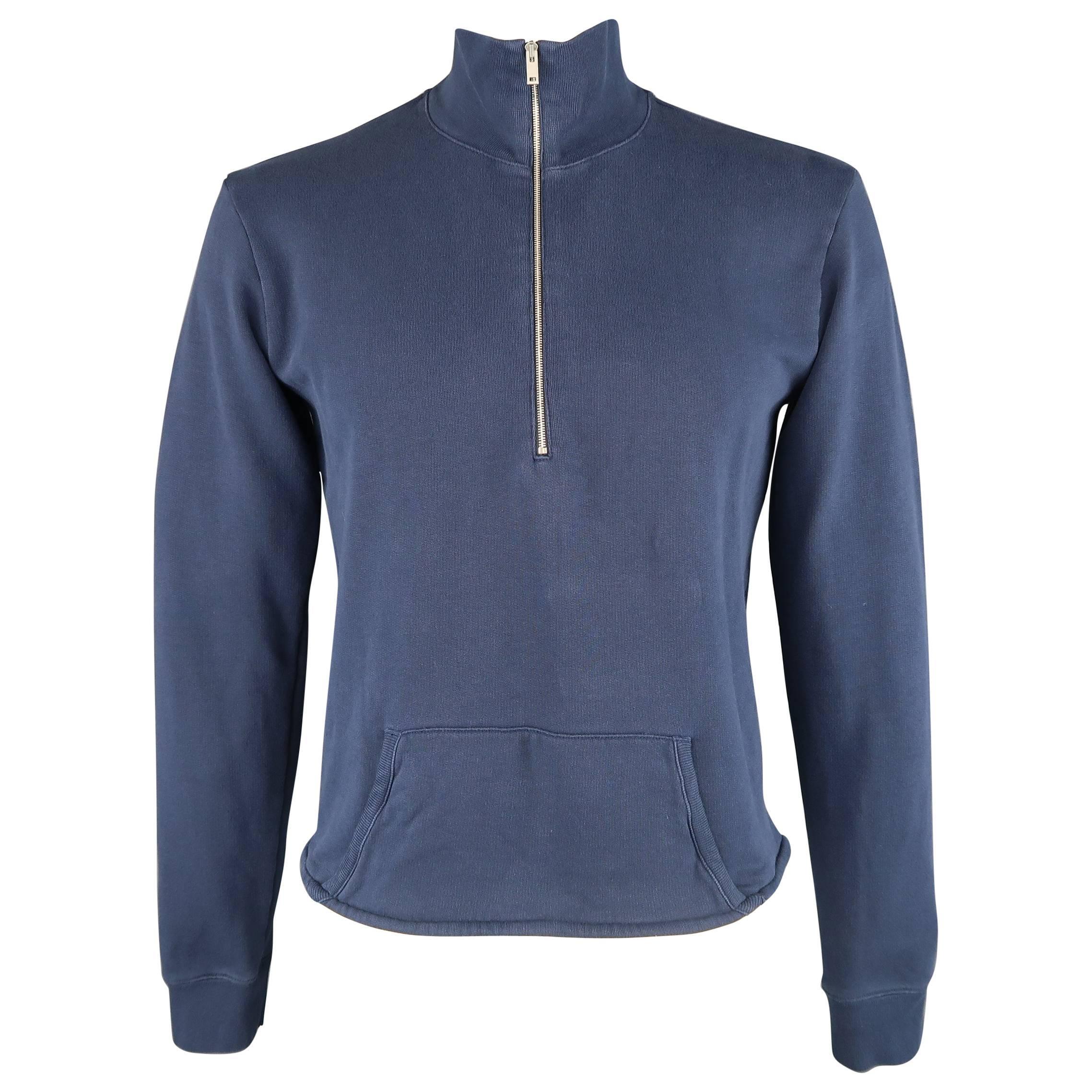 Sweater for Men Jumper On Sale, Black, Cotton, 2017, M S Maison Martin Margiela