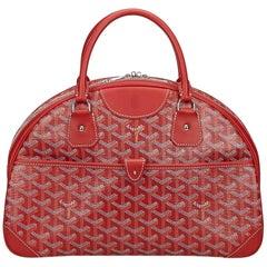 Goyard Red Saint Jeanne MM Bag