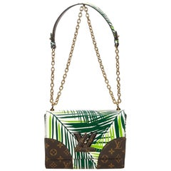 Louis Vuitton Green / Dark Green / Multi Cruise Twist MM Bag