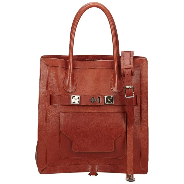 Proenza SchoulerBrown Large PS11 Tote