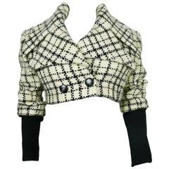 Karl Lagerfeld Vintage Cropped Jacket  Size 38