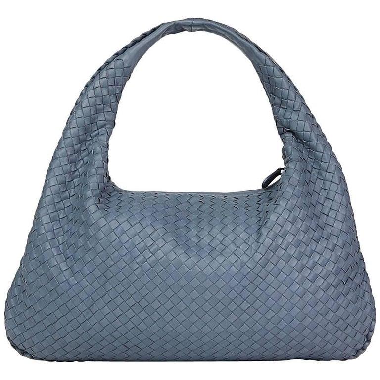f0f8a62c490d 2015 Light Tourmaline Woven Lambskin Medium Veneta Bag For Sale at 1stdibs