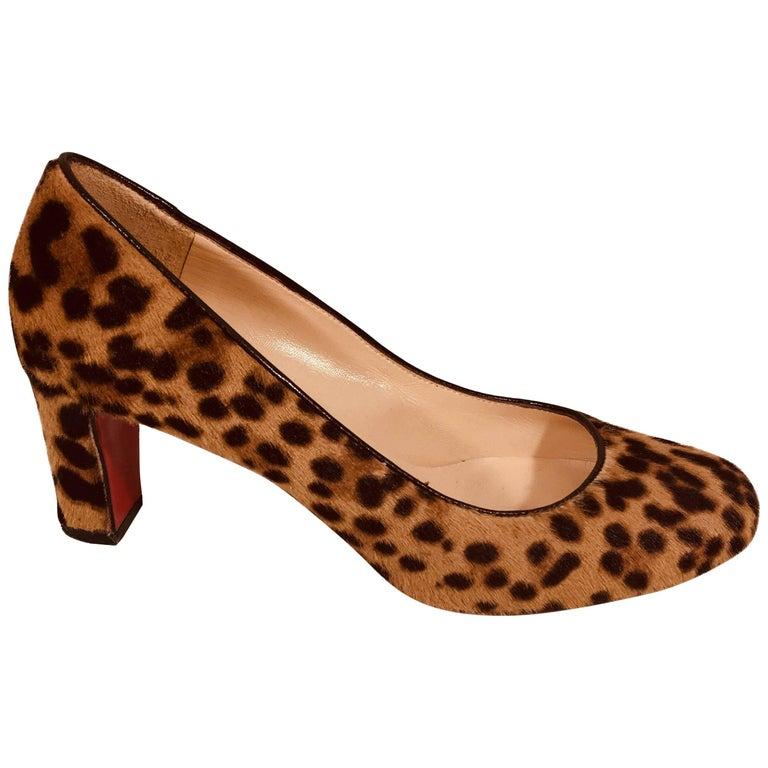 big sale e1d88 1404e Christian Louboutin Leopard Pumps