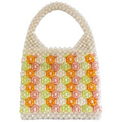 Barbara Lee Multi-colored Beaded Bag, 1960s