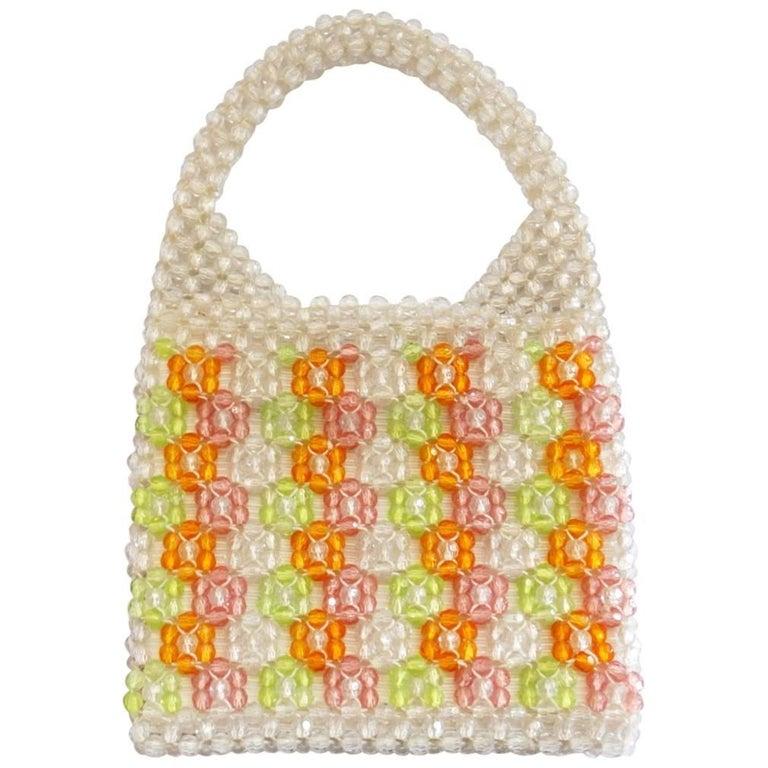 Barbara Lee Multi-colored Beaded Bag, 1960s