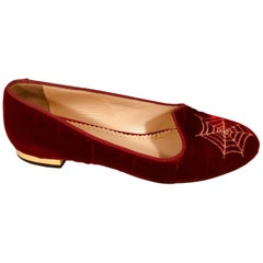 Charlotte Olympia Spider Web Loafers