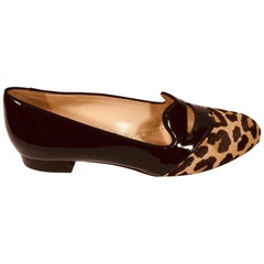 Charlotte Olympia Leopard Loafers