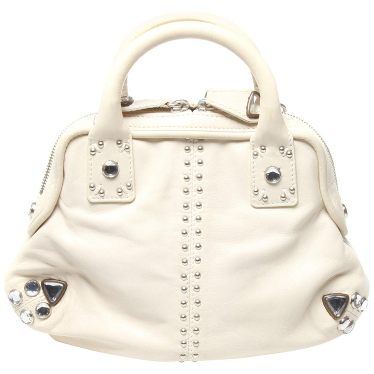 Sonia Rykiel White Handbag For Sale