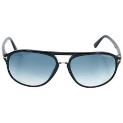Black Tom Ford Aviator Sunglasses