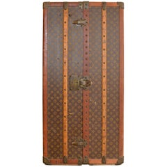 Louis Vuitton Monogram Wardrobe Antique Trunk, Circa 1925-30