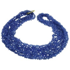 Tanzanite 34 Inch Necklace
