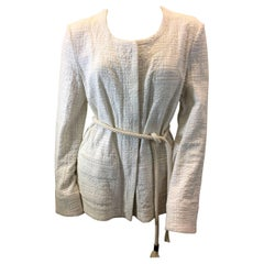 See By Chloe White Jacket with Rope Tie