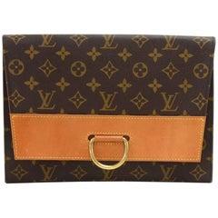 Vintage Louis Vuitton Pochette Lena Monogram Canvas Clutch Bag
