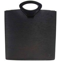 Louis Vuitton Ombre Black Epi Leather Tote Bag