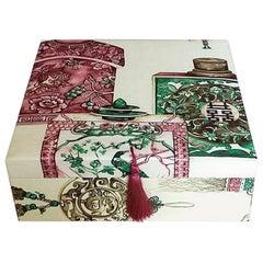 Box for Hermès Scarves Carrés Storage Box Decorative Box Scarf Box Pierre Frey