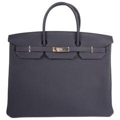 Hermès Birkin Bag 40 - Bleu Nuit 2018