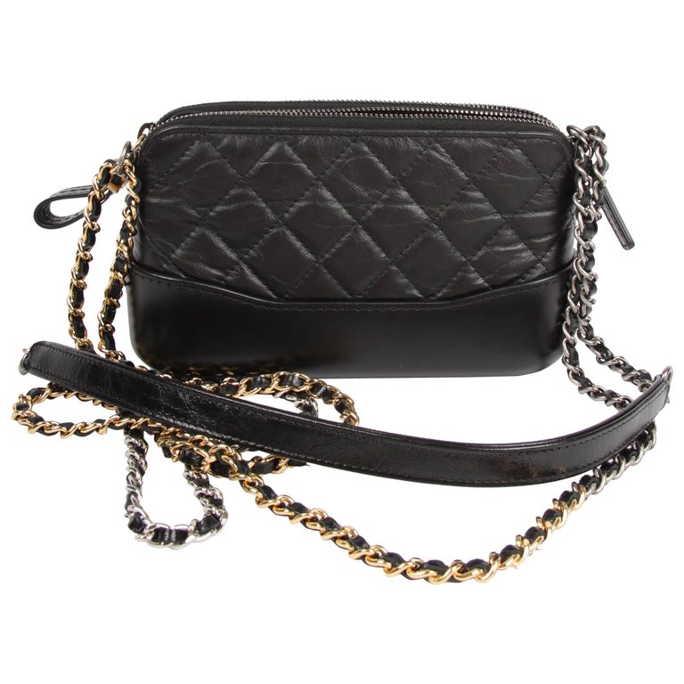Chanel Mini Gabrielle Bag Black For