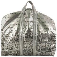 Chanel Unlimited Garment Travel Bag Printed Nylon