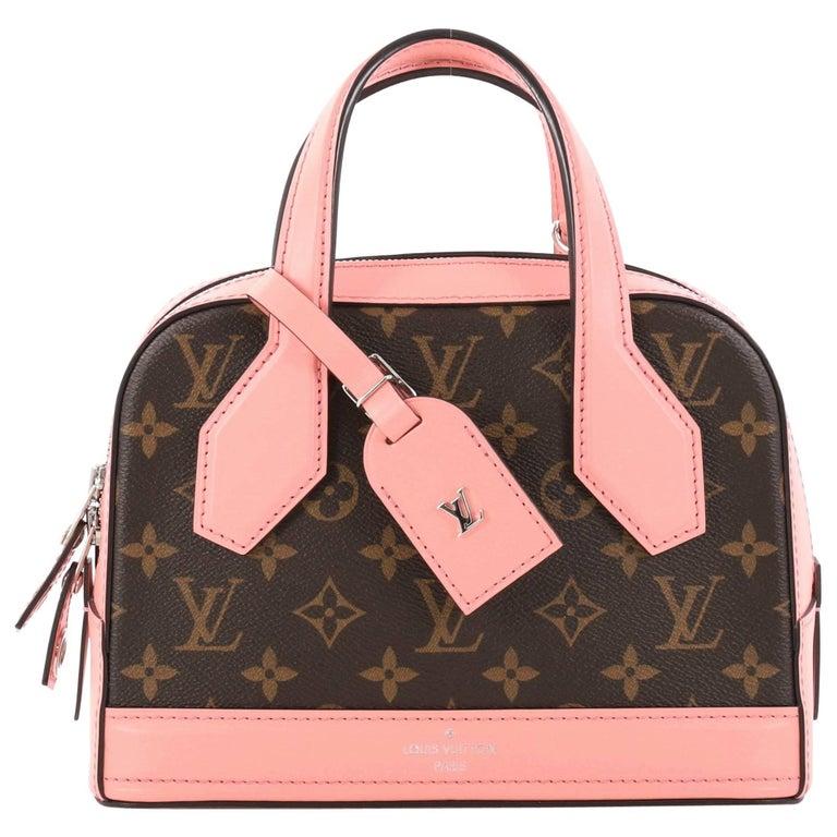 Louis Vuitton Dora Handbag Monogram Canvas and Calf Leather BB