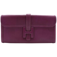 Hermes Jige Elan 29 Swift Leather Clutch