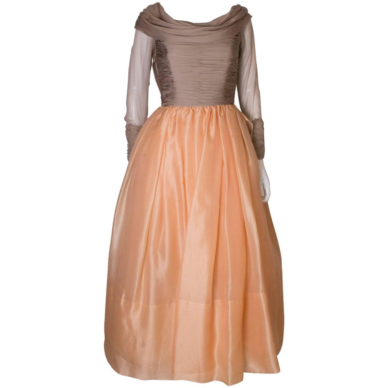 Carolyne Roehm Vintage Silk Gown
