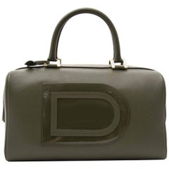 Delvaux Louise Boston Allure Olive Green handbag