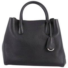 Christian Dior Open Bar Bag Leather Large