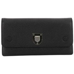 Christian Dior Diorever Croisiere Chain Wallet Leather