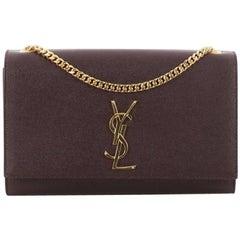 Saint Laurent Classic Monogram Crossbody Bag Grainy Leather