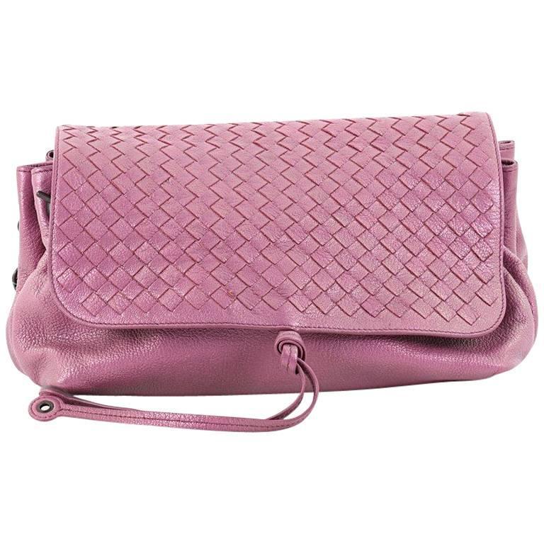 Bottega Veneta Accordion Flap Messenger Leather with Intrecciato Medium at  1stdibs 0af59990ecd88